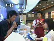 Ami, Motoki i Nefukichi w restauracji PGSM - act44