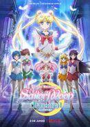 Sailor Moon Eternal Póster Netflix