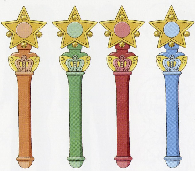 Sailor Scout Star Wand