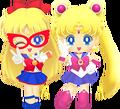 Sailor Moon & Sailor V
