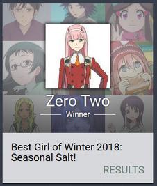 Seasonal 2018 winter winner