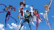 The five protagonists of Saint Seiya.jpg