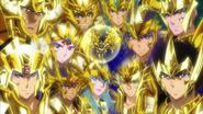 God Cloth Gold Saints