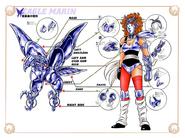 Schéma de l'Armure de l'Aigle