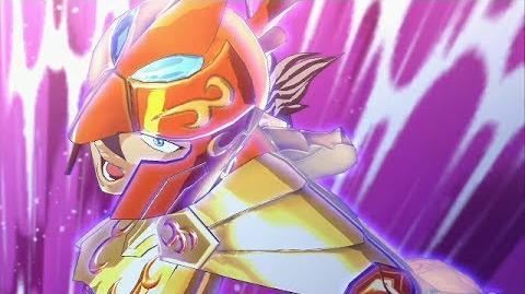 聖闘士星矢 ブレイブ・ソルジャーズ - Saint Seiya Brave Soldiers - Baian vs Minos
