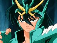 Shiryu New Cloth dans l'arc Asgard et Poséidon