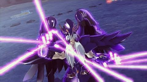 聖闘士星矢 ブレイブ・ソルジャーズ - Saint Seiya Brave Soldiers - Minos vs Deathmask specter