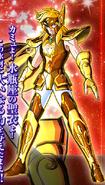 Hyôga portant l'Armure du Verseau (BS)