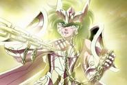 Shun portant l'Armure Divine d'Andromède