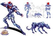 Armure du Lynx (Online) (Concept Art)
