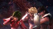 KotZ Netflix Three Bronze Knights shielded from blast