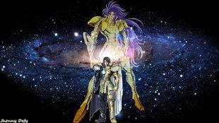 Gemini Saga wallpaper