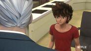 KotZ Netflix Seiya talking to Mitsumasa Kido