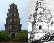 Model of Jamir Tower