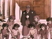 Caballeros de Bronce, Athena y Mitsumasa Kido.jpg