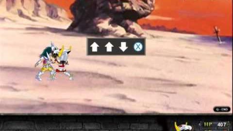 Gameplay Saint Seiya Exclamation 2