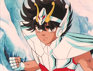 Seiya New Cloth in Asgard Arc