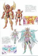 Sôma et Yuna avec leurs Armures Oméga