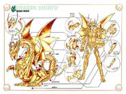 Schéma de l'Armure Divine du Dragon