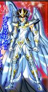 Seiya portant l'Armure Divine de Pégase (BS)