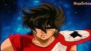 Saint Seiya Pegasus Ryuusei Ken vs Saga