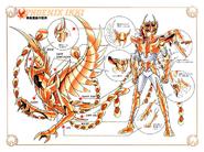 Schéma de la 3ème Armure du Phénix