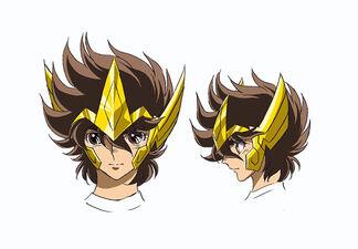 Rosto de Seiya