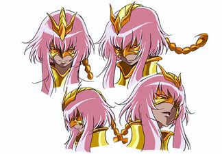 Sonia de Escorpião - Face