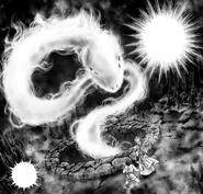 A alma de Asclépio surge para Suikyo e Odisseu (ND)