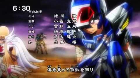Saint Seiya Omega - 3ª Abertura (4ª versão)