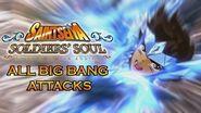 Saint Seiya Soldiers Soul All Big Bang Attacks