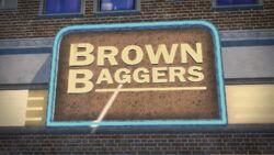 Brown Baggers logo in Saints Row 2