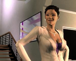 Aisha in Saints Row 2