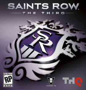 Cover art for Saints Row: The Third.