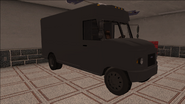 Saints Row variants - Delivery Truck - Unmarked - front right