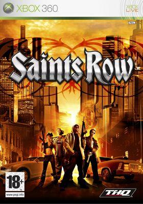 Box art for Saints Row