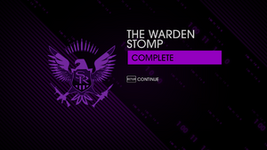 """""""The Warden Stomp"""" Mission completion in Saints Row IV"""