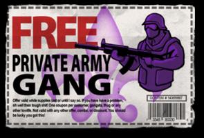 Gang Customization in Saints Row 2 - Bodyguards gang unlock coupon.png