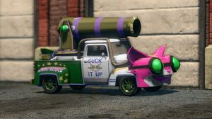 The Genki Manapult in Saints Row: The Third