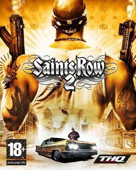 Box art for Saints Row 2.