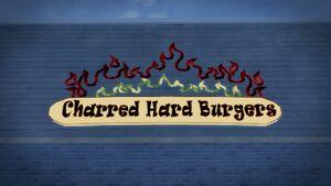 Charred Hard Burgers logo