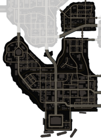 Carver Island map (clicking on any Neighborhood links to a specific article)