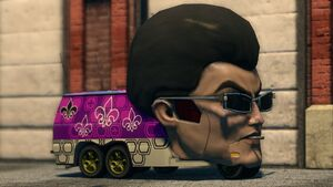 The Gat Mobile in Saints Row: The Third