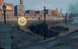 Rondini's Boat Dock in Saints Row: The Third