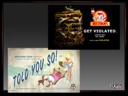 Gat out of Hell promo Billboards - Told You So and Beelzebub's