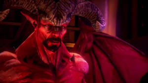 Satan in Saints Row: Gat out of Hell