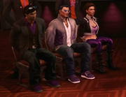 I'm Free - Free Falling - Playa, Johnny Gat, and Shaundi tied to chairs.png