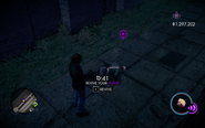 Cop Homie passed out in Saints Row IV