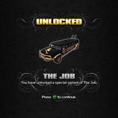 Saints Row unlockable - Vehicles - The Job