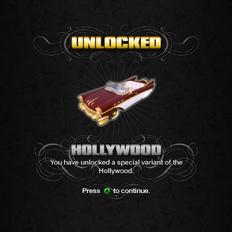 Saints Row unlockable - Vehicles - Hollywood
